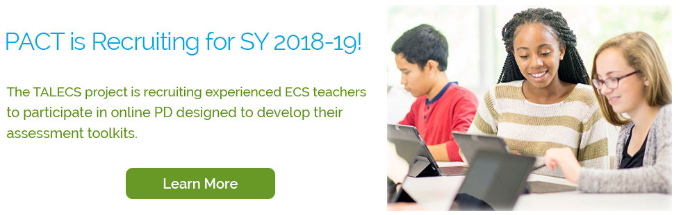 TALECS Is Recruiting for SY 2018-19. Contact Us